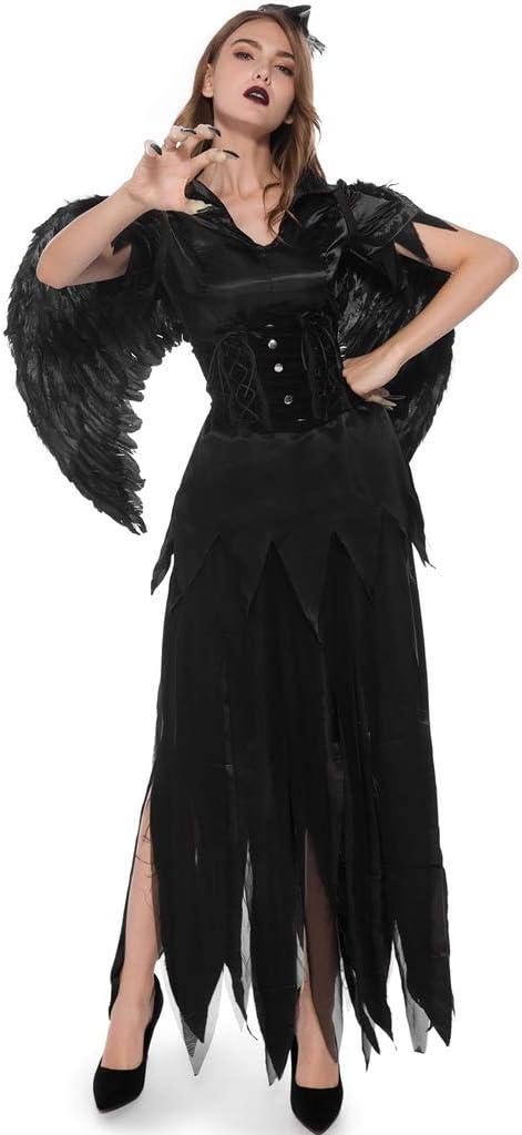 LXHSY Halloween Vampire Dark Angel Masque Costume New product!! Female Cosplay Cheap sale