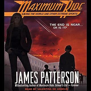 Maximum Ride audiobook cover art