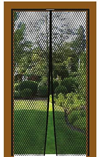 Bestlivings Insektenschutz Magnetvorhang Fliegengitter für Türen, in Länge und Breite individuell kürzbar, Auswahl: 100x210cm