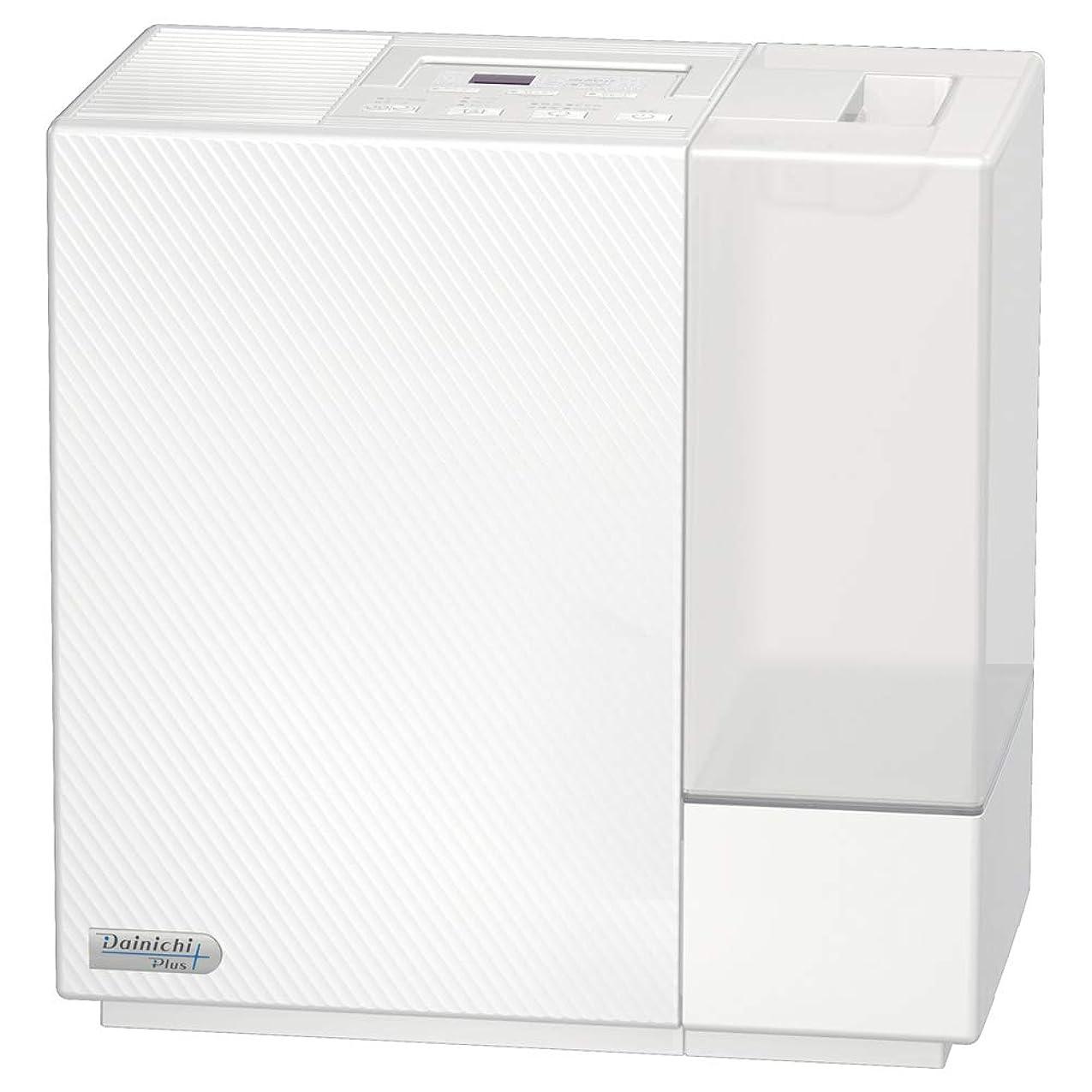 ダイニチ ハイブリッド式加湿器(木造和室12畳まで/プレハブ洋室19畳まで) RXシリーズ クリスタルホワイト HD-RX717-W