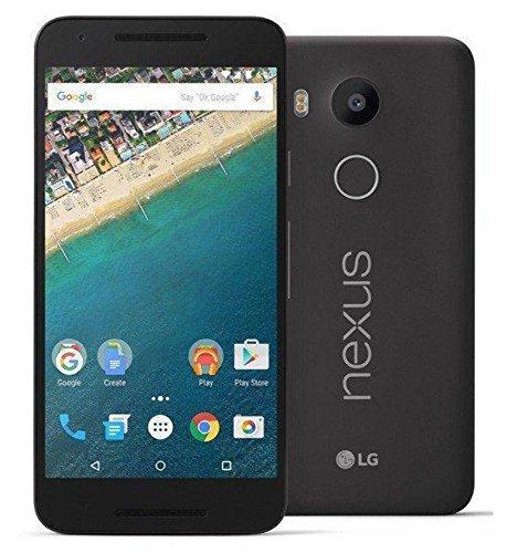 LG Google Nexus 5X H791 16Gb 4G LTE de 5,2 Pulgadas Desbloqueado de fábrica (de Carbono) - Internacional de la No Garantía Negro