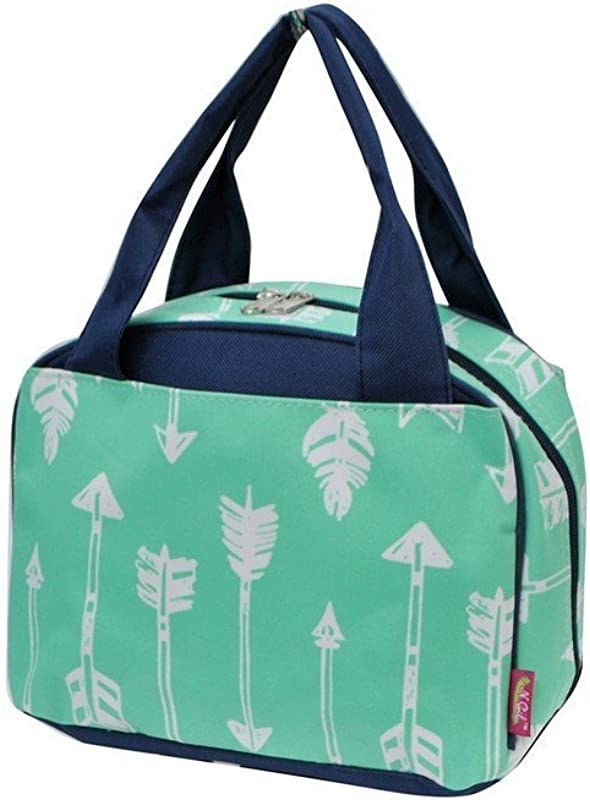 Mint Arrow Print NGIL Insulated Lunch Bag