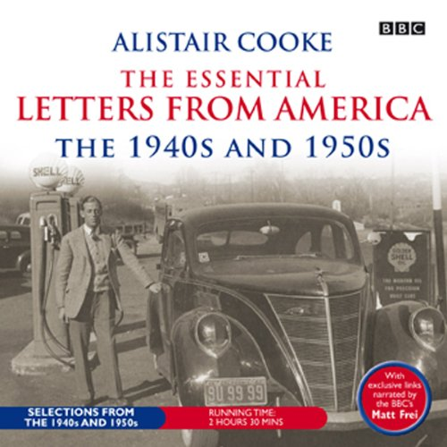 Alistair Cooke audiobook cover art