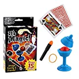 YOYOHOT 1PC Novelty Magic Toy Box Kit Magic Trick Props Puzzle Toy Education Toy Gadget Kids Gift