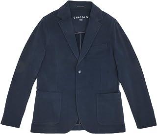 (チルコロ) CIRCOLO 1901 二つ釦ジャケット メンズ アンコンジャケット ネイビー 正規取扱店