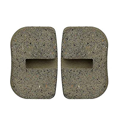Disc Brake Pads for Coleman CT100U Mini Bike 97cc 2.8hp DB30 Mini Baja Doodlebug WARRIOR MB165 MB200 5.5HP 6.5HP196cc Motovox MBX10 MBX11 Mini Bike Moto MM-B80 Parts