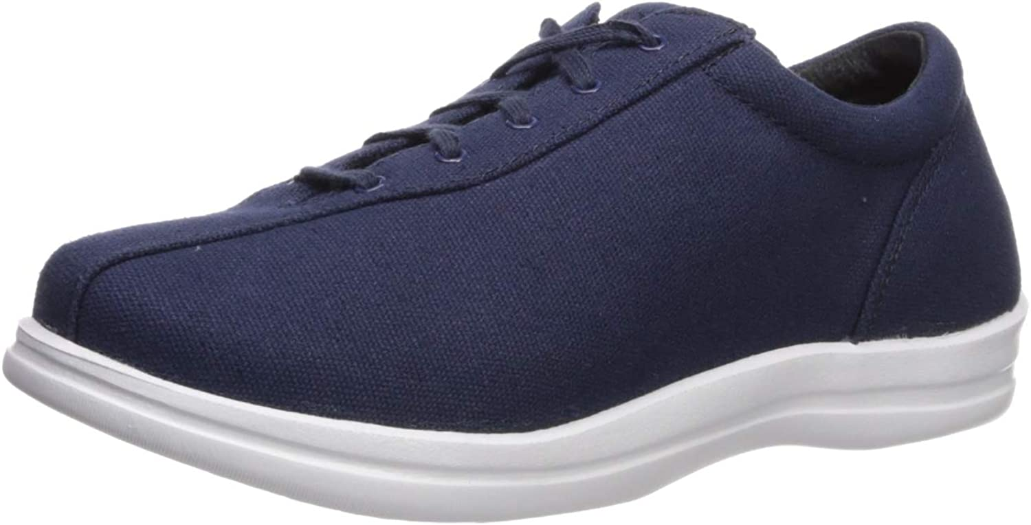 Apex Womens Women's Ellen - Canvas - Navy Sneaker