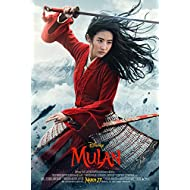 Tomorrow sunny Mulan 2020 Movie Poster Art Print 24'' X36'' (B)