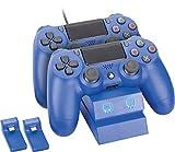 ACCESSOIRE Console VENOM Twin Docking Station Blue PS4 VS2738