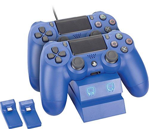 Venom PlayStation 4 Twin Charge Docking Station - Blue - PlayStation 4 [Importación inglesa]
