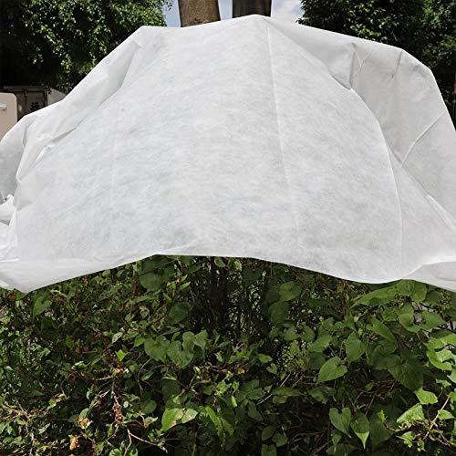 Cubierta de protección para plantas de jardín de forro polar para plantas cálido de protección de plantas de invierno reutilizable plantas cálido la manta para árboles frutales en macetas