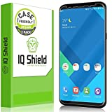 IQ Shield Screen Protector Compatible with Samsung Galaxy S8 (2-Pack)(Case Friendly)(Not Glass) Anti-Bubble Clear Film