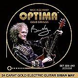 オプティマ(OPTIMA) エレキギター弦   24Kゴールド 2028.BM