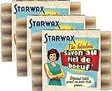 Starwax Fabulous - Jabón de fiel de buey, 100 g, ideal para eliminar todas las manchas difíciles, lote de 3