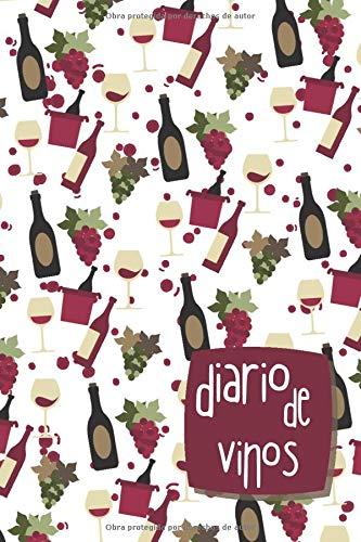 Diario de vinos: Registrar tus Vinos Favoritos, Cuaderno para registrar catas de vino