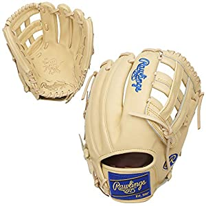 Rawlings Heart of The Hide R2G Kris Bryant Model Baseball Glove, Pro H Web, 12.25 inch, Right Hand Throw, Camel