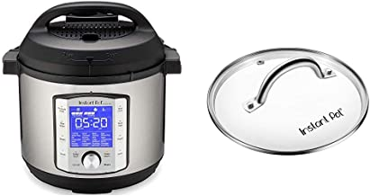Instant Pot Duo Evo Plus 9-in-1 Electric Pressure Cooker, Sterilizer, Slow Cooker, Rice Cooker, Grain Maker, 6 Quart, 10 P...