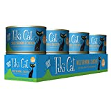 Tiki Cat Luau Grain-Free, Low-Carbohydrate Wet Food with Poultry or Fish in Consomme for Adult Cats...