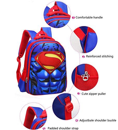 51loUjLonQL - Mochila para niños Mochila primaria superhéroe hombre araña mochila para niños