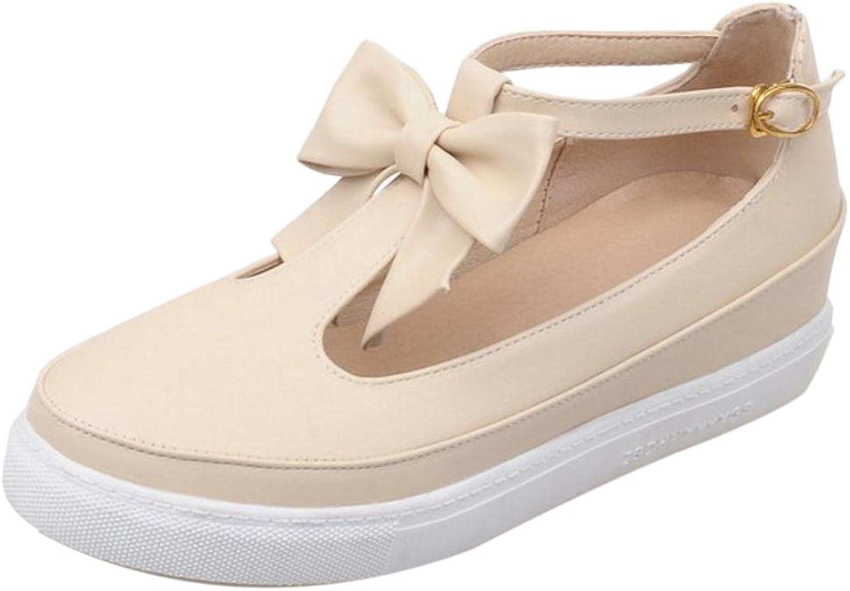 TAOFFEN Women's Fashion Thick Sole shoes