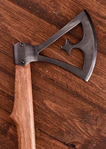 Wikinger Kreuzaxt aus Gotland, 10. Jahrhundert Wikingeraxt Kampfaxt Axt Beil LARP Ritter Wikinger Mittelalter Verkauf ab 18 Jahren - 2