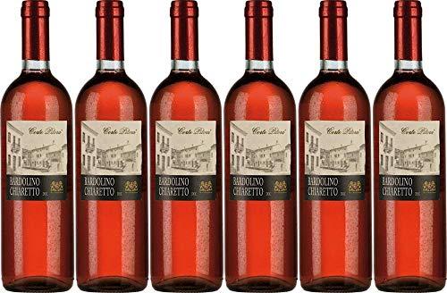6x Corte Pitora Bardolino Chiaretto 2019 - Weingut Casa Vinicola Bennati, Bardolino - Rosé
