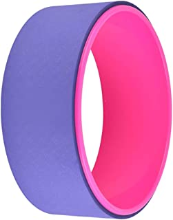 Fitness Circles Yoga Wheel Thin Back Thin Shoulder Dharma Wheel Back Bend Open Shoulder Equipment Yoga Supplies Yoga Ring Pilates Ring Load Capacity 300KG (Color : Blue, Size : 13 * 33cm)