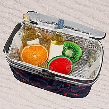 Icepack Lot de 3 blocs réfrigérants pour sac isotherme ou glacière, env. 16 cm avec motif fruits Melon Kiwi Orange
