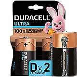 Duracell - Ultra D con Powercheck, Pilas Alcalinas (paquete de 2) 1.5 Voltios LR20 MX1300