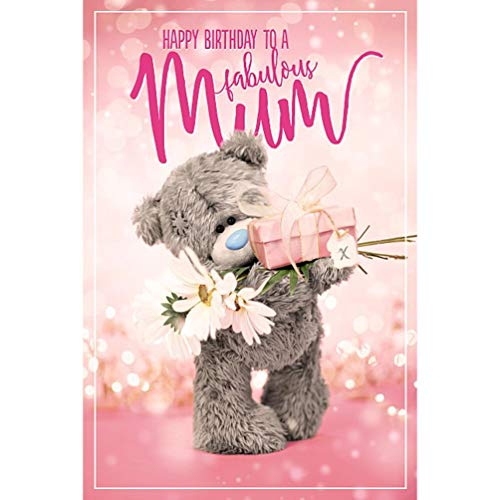 Me to You Tatty Teddy 3D Holographic Card - Mum Birthday