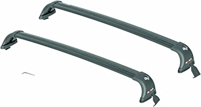 ROLA 59736 Removable Mount GTX Series Roof Rack for Volkswagen GTI/Golf 2-Door and 4-Door - Black