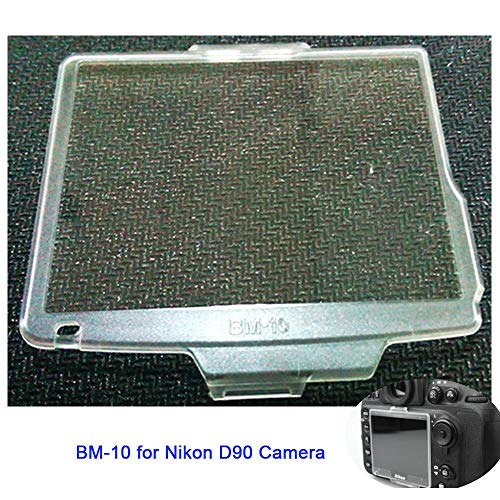 LCD Screen Cover Protector Replace BM-10 for Nikon D90 DSLR Camera,Screen Protector for Nikon d90 Replace BM-10 Fire Rock bm10 (1 Pack)