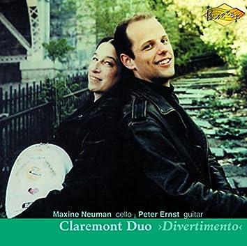 Claremont Duo: Divertimento