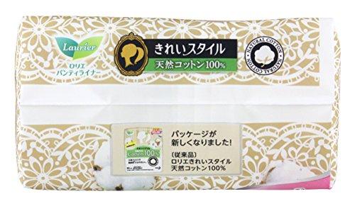 花王『ロリエきれいスタイル天然コットン100%』