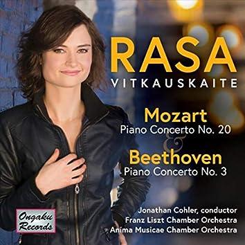 Mozart, Beethoven: Piano Concerto No. 20 in D Minor, K. 466, Piano Concerto No. 3 in C Minor, Op. 37