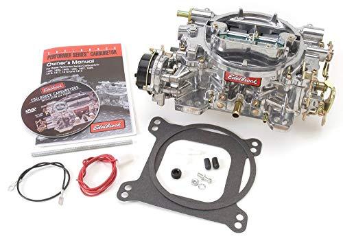 Edelbrock 9913 750 CFM Square Bore 4-Barrel Air Valve Electric Choke Remanufactured Carburetor
