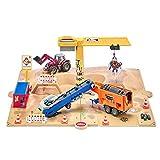 siku 5701, Baugrube, Metall/Kunststoff, Bunt, Inkl. umfangreiches Zubehör, Viele Spielfunktionen
