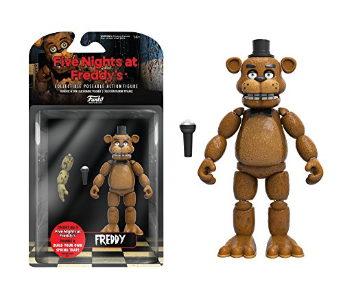 """Funko Five Nights at Freddy's Articulated Freddy Action Figure, 5"""""""