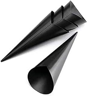 Lacor Lot de 4 cornets à glace anti-adhésifs - 11 x 9 x 4 cm