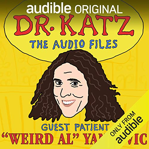 Page de couverture de Ep. 8: Weird Al (Dr. Katz: The Audio Files)