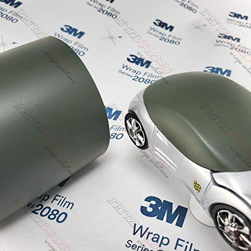 3M 1080 M26 Matte Military Green 5ft x 1ft (5 sq/ft) Car Wrap Vinyl Film