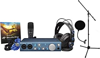 Presonus AudioBox iTwo Studio with HD7 Headphones, M7 Mic, S1 Artist, Pop Filter, and Mic Stand