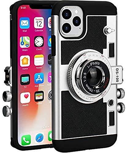Estuches para teléfonos con cámara para iPhone 12 Pro Max Carcasa protectora Funda protectora