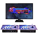 OneV FT 【3399 Games in 1】 Pandora Box Arcade Games Console 3D 1280x720 Full HD Retro Arcade Games Pandora Box with Two Separate Joysticks Supports PC/Laptop/TV/PS3 2 Players (Gear)