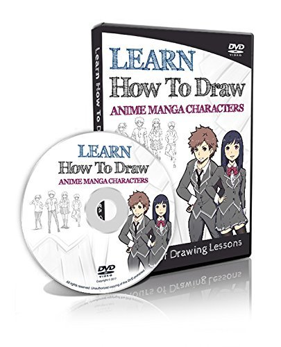 Learn How to Draw Anime Manga Characters - 4 Hours Lessons!