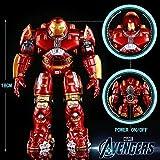Hclshops Estatua de Juguete De acción de Juguete Figura de acción Luminosa 18cm Hulkbuster...