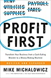 Books for Wandering Entrepreneurs - money management and cash flow business book Profit First