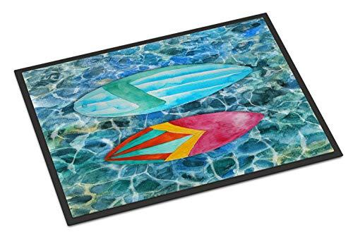 Caroline Tesoros de Tablas de Surf en el Agua Felpudo, 18h x 27W, Multicolor