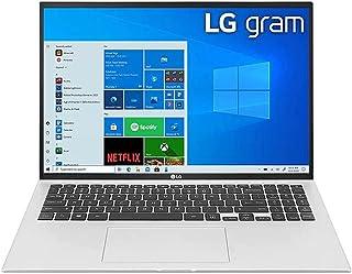 LG Gram 16Z90P-G Ultra Light Weight Laptop,IntelCore i7-1065G7,16Inch,1TB SSD,16GB RAM,Iris® Plus Graphics,Win10 Home,Silv...