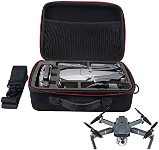 MASiKEN Carrying Case for DJI Mavic Pro/DJI Mavic Pro Fly More Combo, Fit Drone, 5X Batteries, Remote Controller, Charging Hub, Propellers and Other Accessories